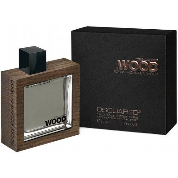 He Wood Rocky Mountain Wood edt 50ml Dsquared2