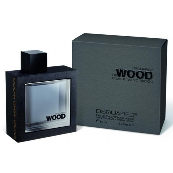 He Wood Silver Wind Wood edt 50ml Dsquared2