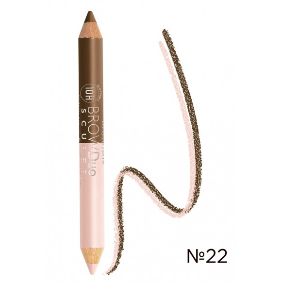 Карандаш EYEBROW PENCIL BROW DUO SCULPT BOURJOIS