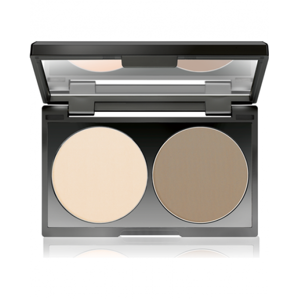 Контурирующая пудра Duo Contouring Powder MAKE UP FACTORY