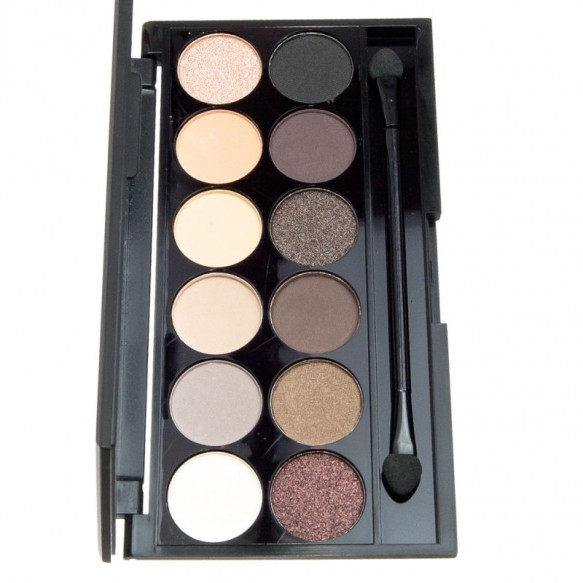 Палетка теней i Divine Eyeshadow Palette Au Naturel Sleek