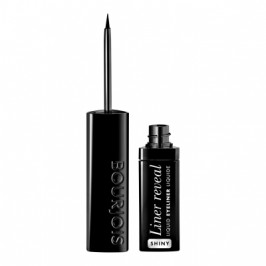 Подводка с кистью Liner Reveal Shiny Black BOURJOIS