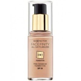 Тон ALL DAY Flawless Foundation 3 in 1 Max Factor