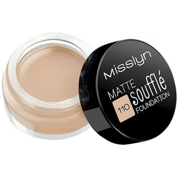 Тональный крем MATTE SOUFFLE FOUNDATION MISSLYN